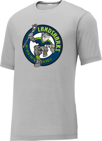 Bay Area Landsharks Grey CottonTouch Performance T-Shirt