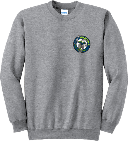 Bay Area Landsharks Grey Crew Neck Sweatshirt