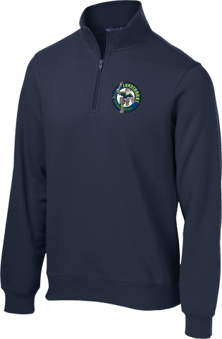 Bay Area Landsharks Navy 1/4 Zip Fleece