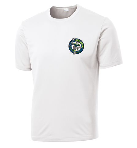 Bay Area Landsharks White Performance T-Shirt