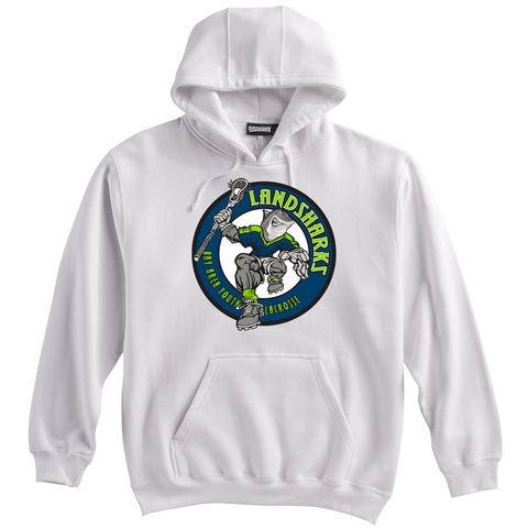 Bay Area Landsharks White Sweatshirt