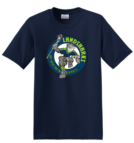 Bay Area Landsharks Navy T-Shirt