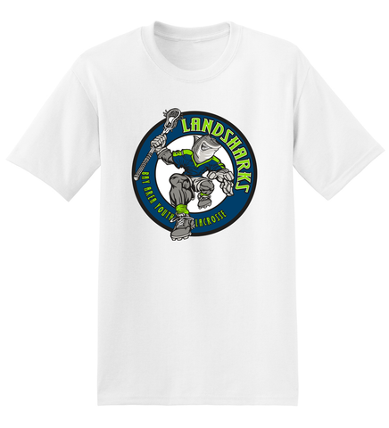 Bay Area Landsharks White T-Shirt