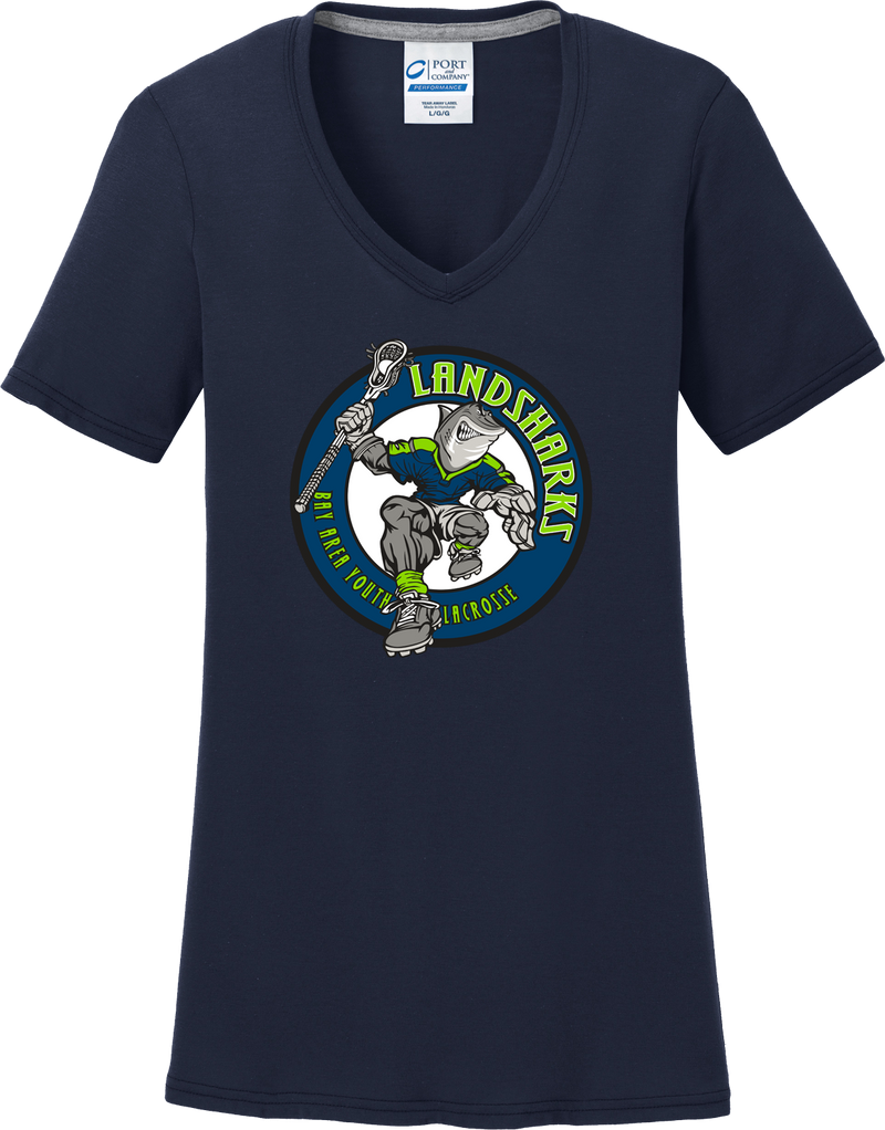 Bay Area Landsharks Women's Navy T-Shirt