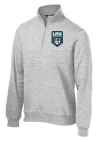 Lax Fed Grey 1/4 Zip Fleece