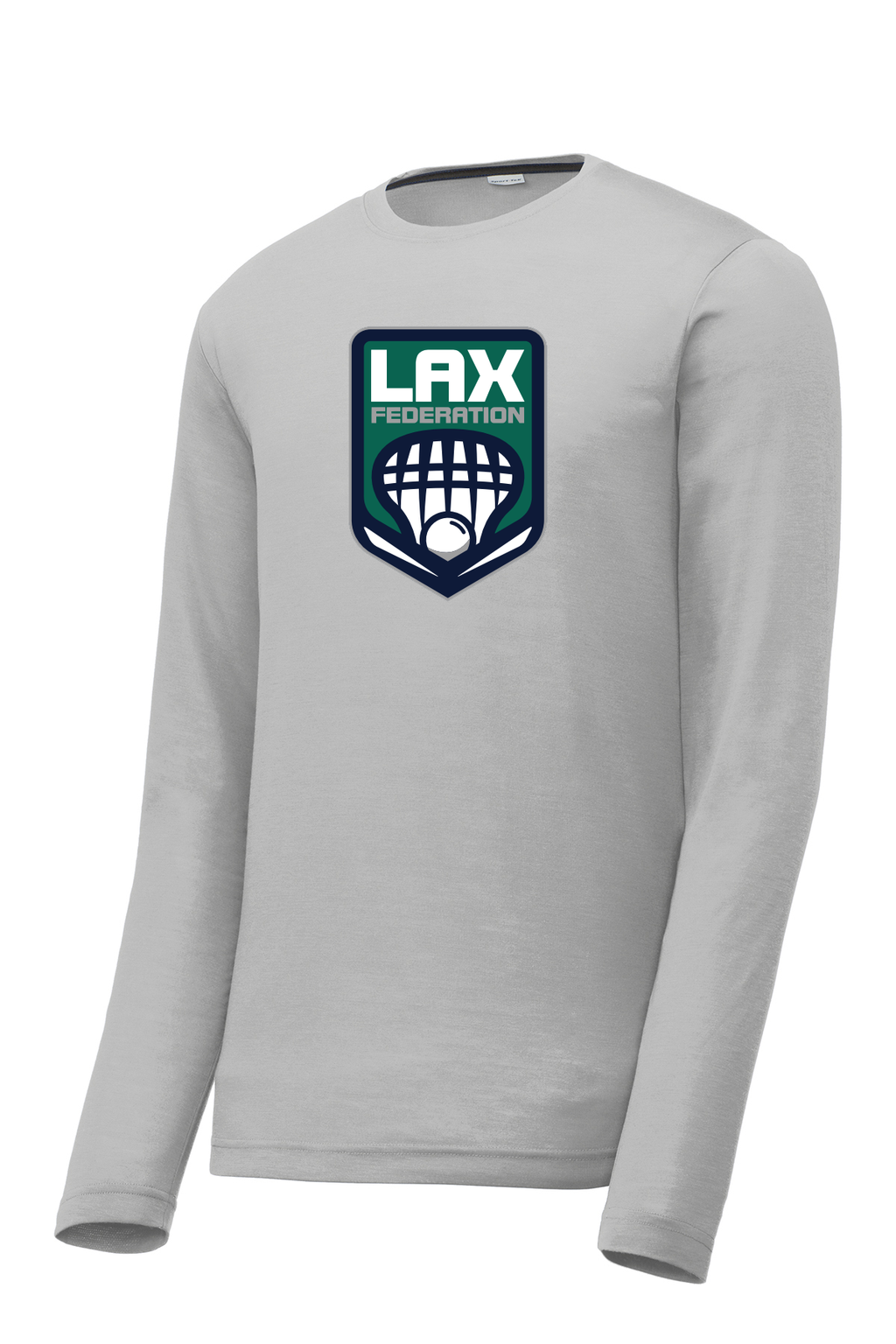 Lax Fed Long Sleeve CottonTouch Performance Shirt