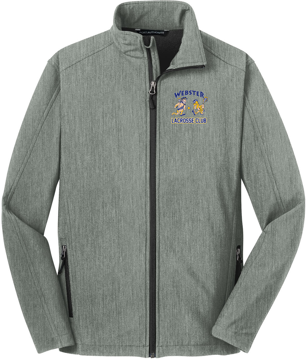 Webster Lacrosse Light Grey Soft Shell Jacket