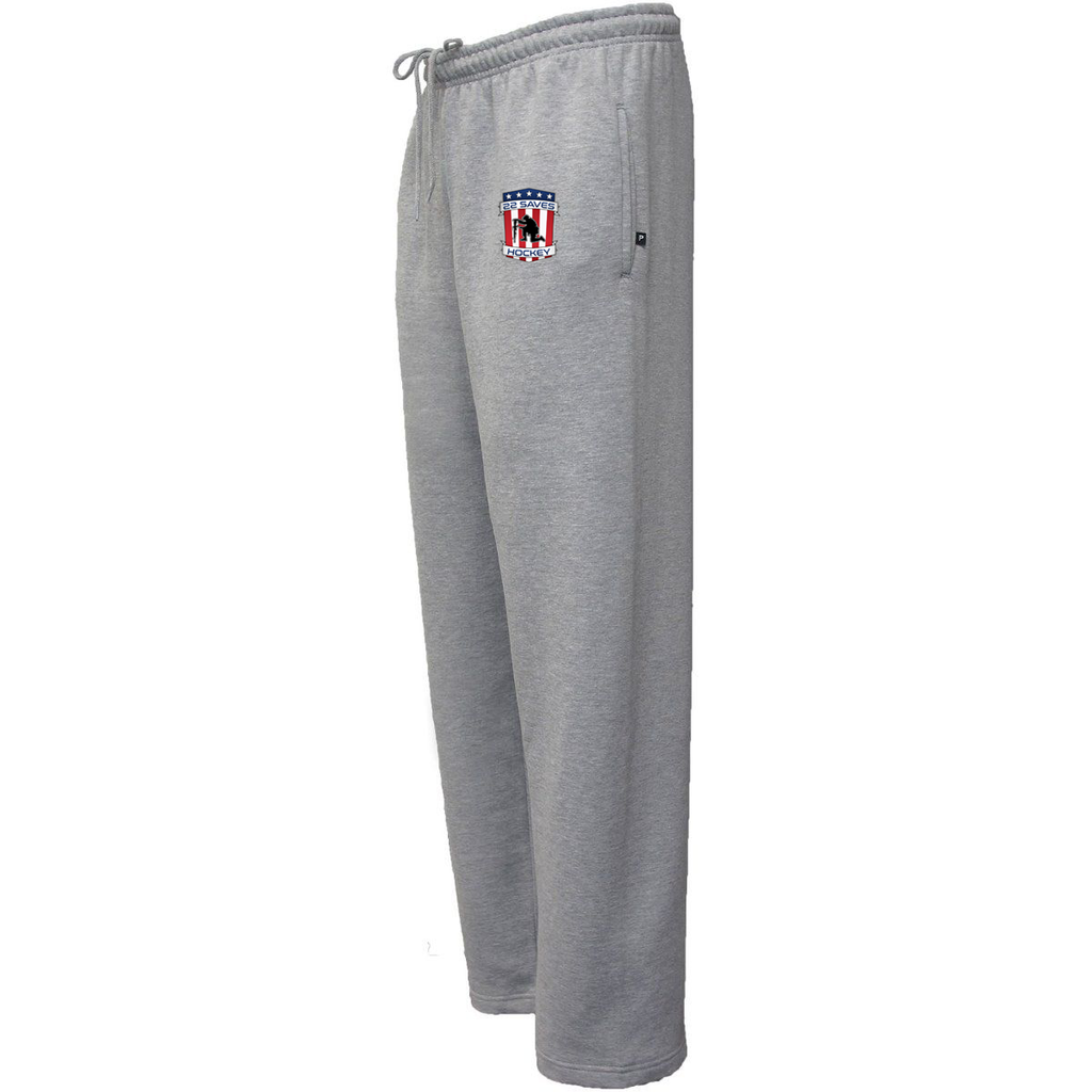 22 Saves Hockey Sweatpants