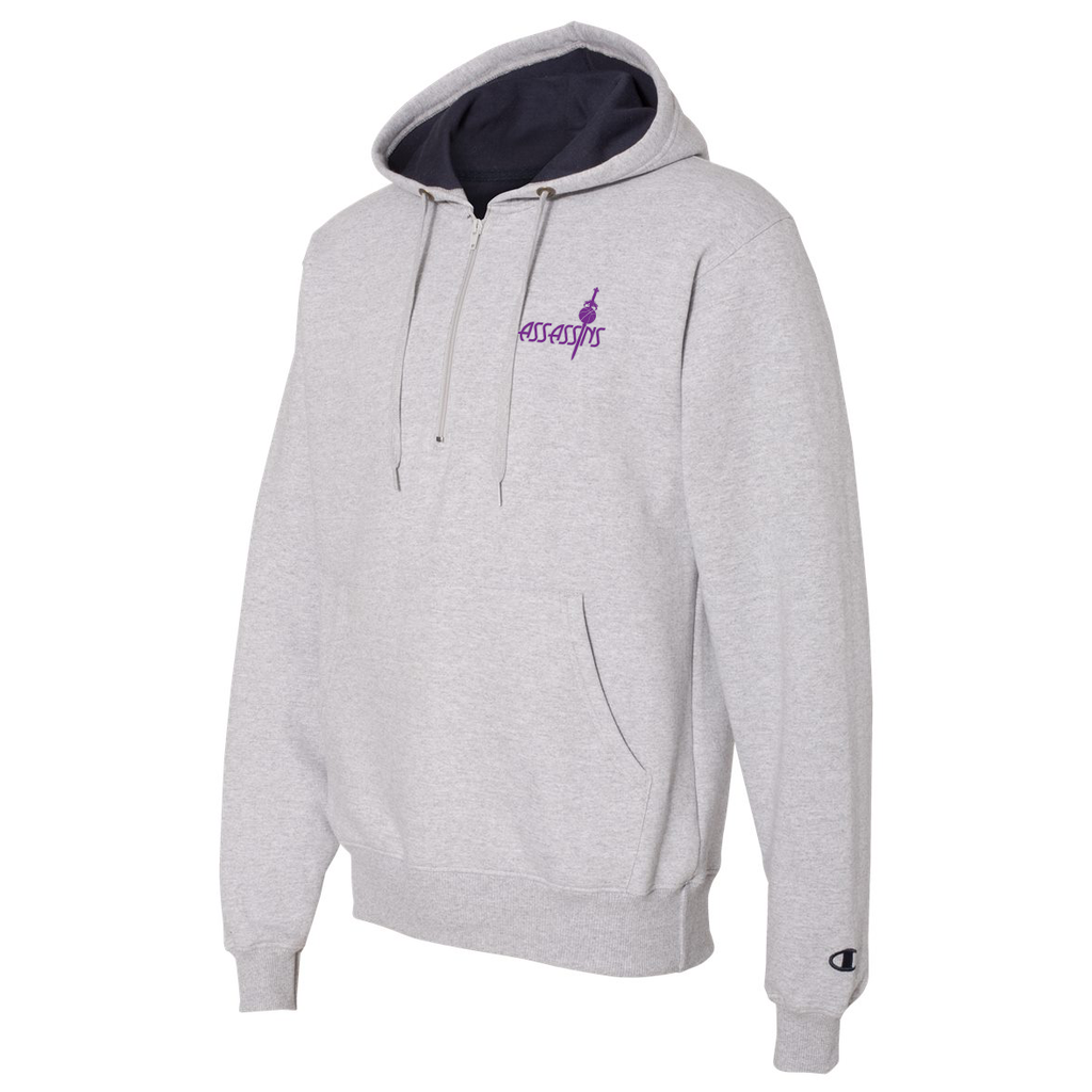 Assassins Basketball Champion Hooded Quarter Zip