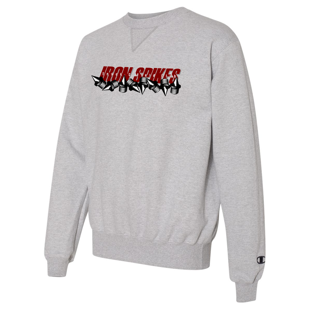 Iron Spikes Track & Field Champion Crew Neck