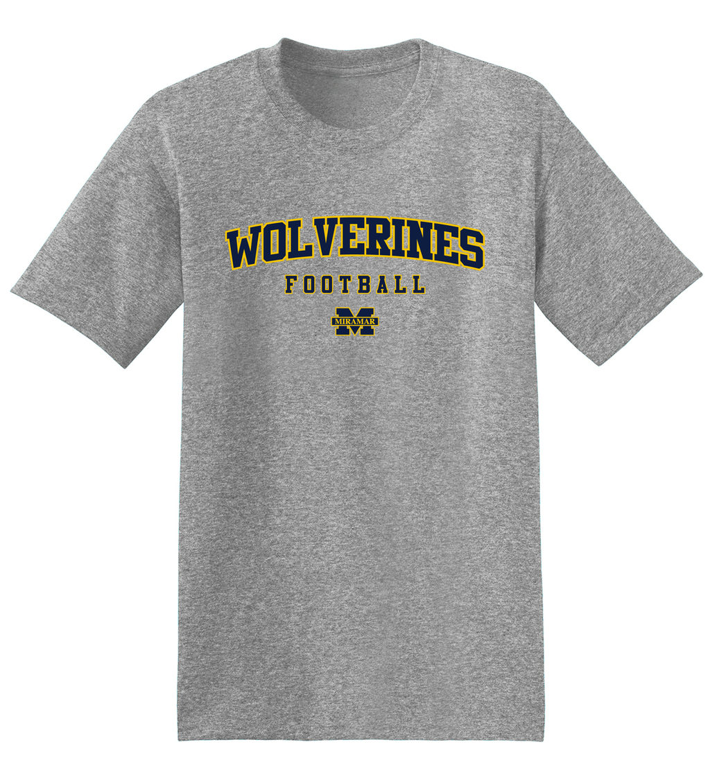 Miramar Wolverines Football T-Shirt