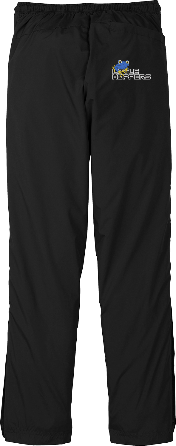 Little Hoppers Black Rain/Wind Pants