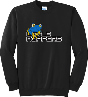 Little Hoppers Black Crew Neck
