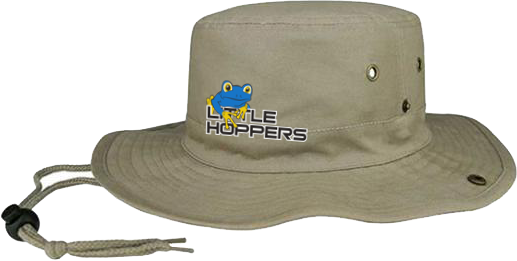 Little Hoppers Khaki Bucket Hat