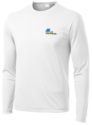 Little Hoppers White Performance Long Sleeve
