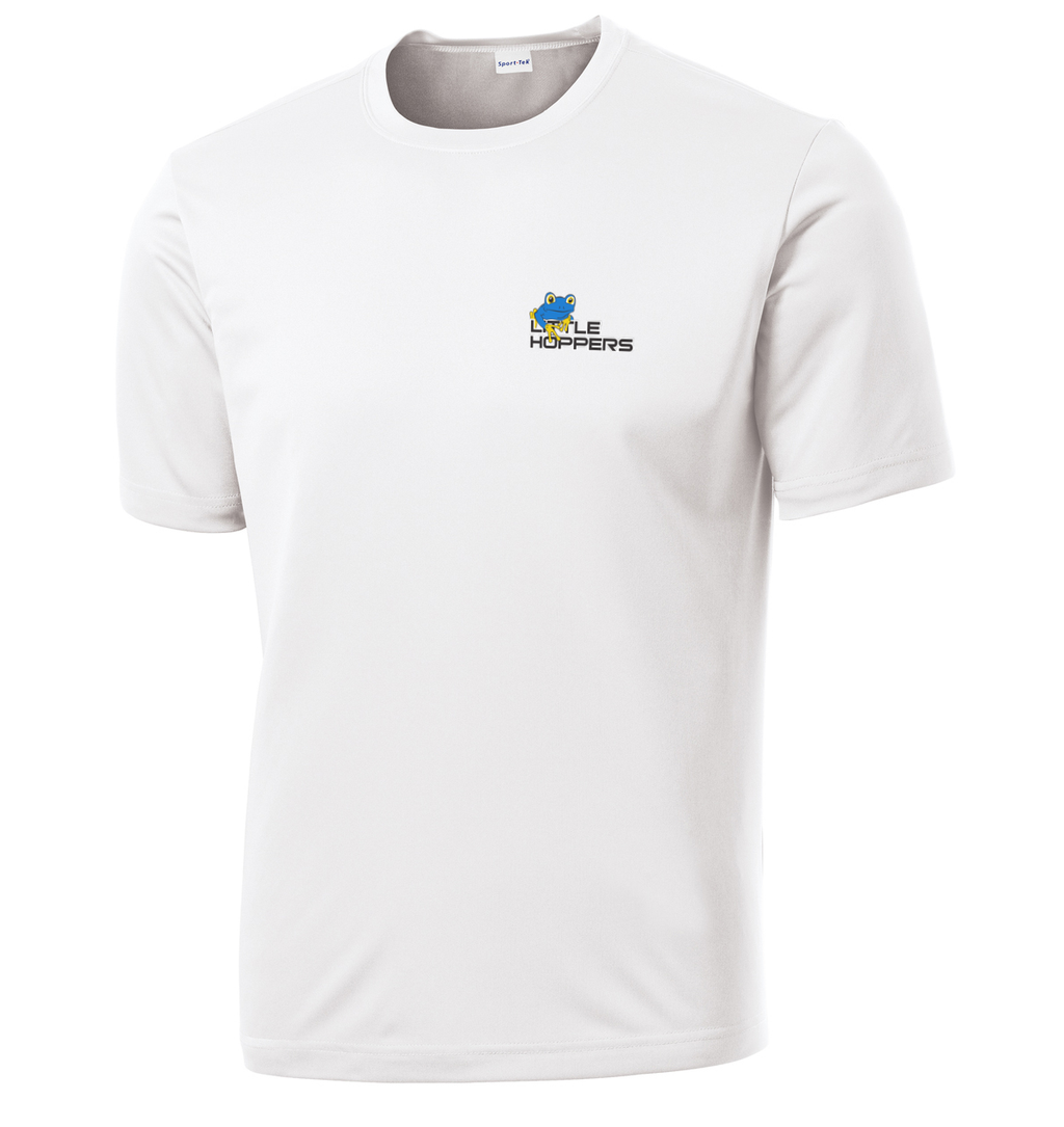 Little Hoppers White Performance T-Shirt