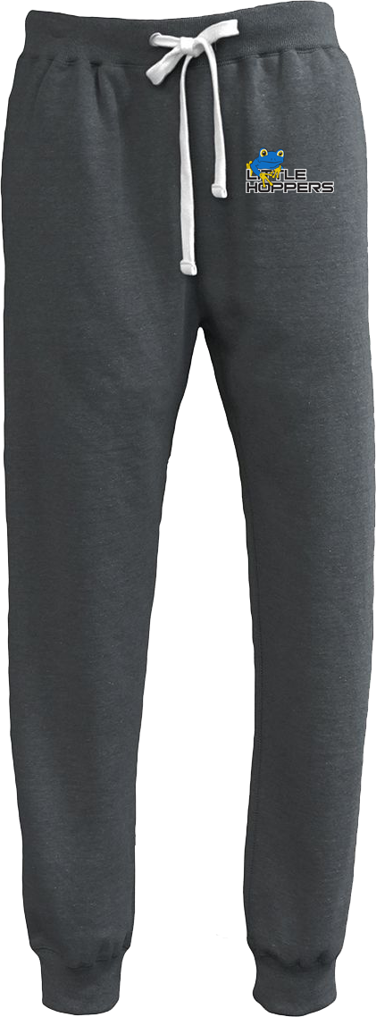 Little Hoppers Black Heather Joggers