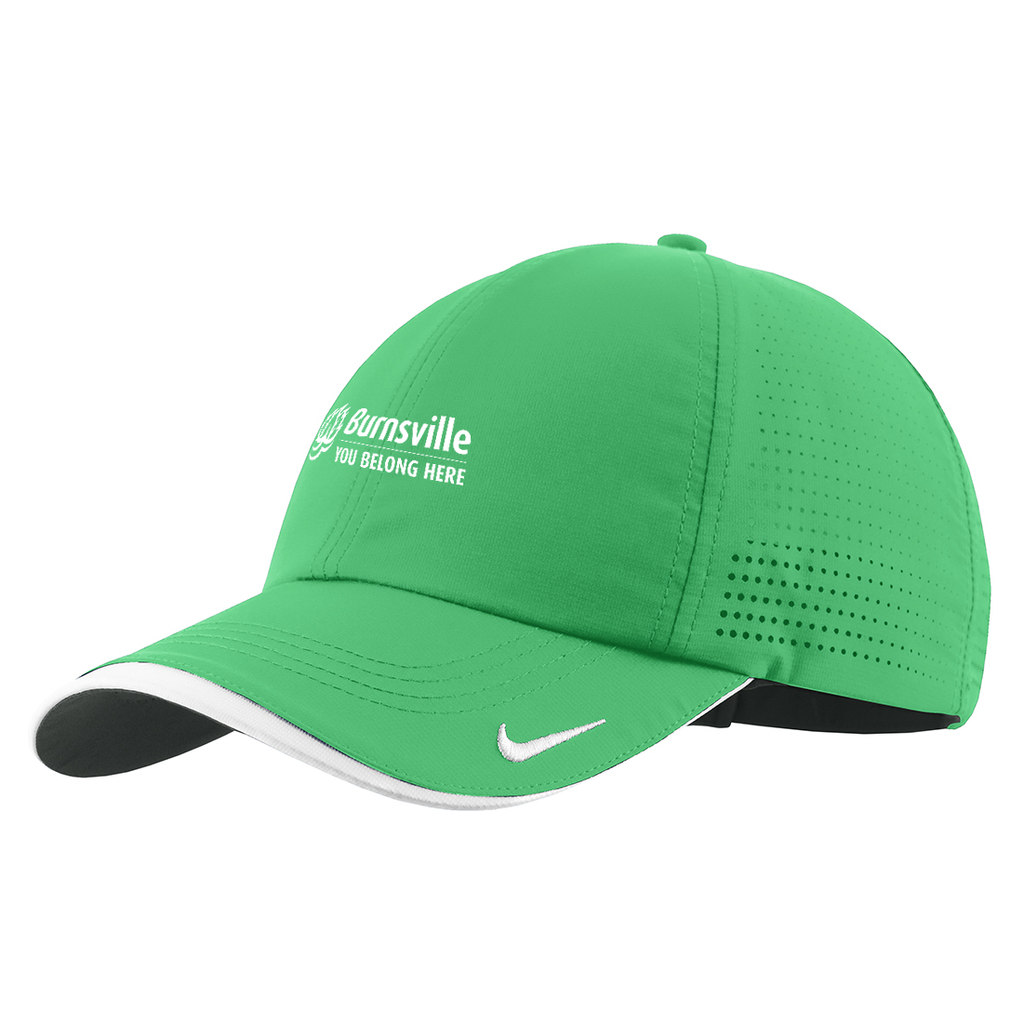 City of Burnsville Nike Swoosh Cap