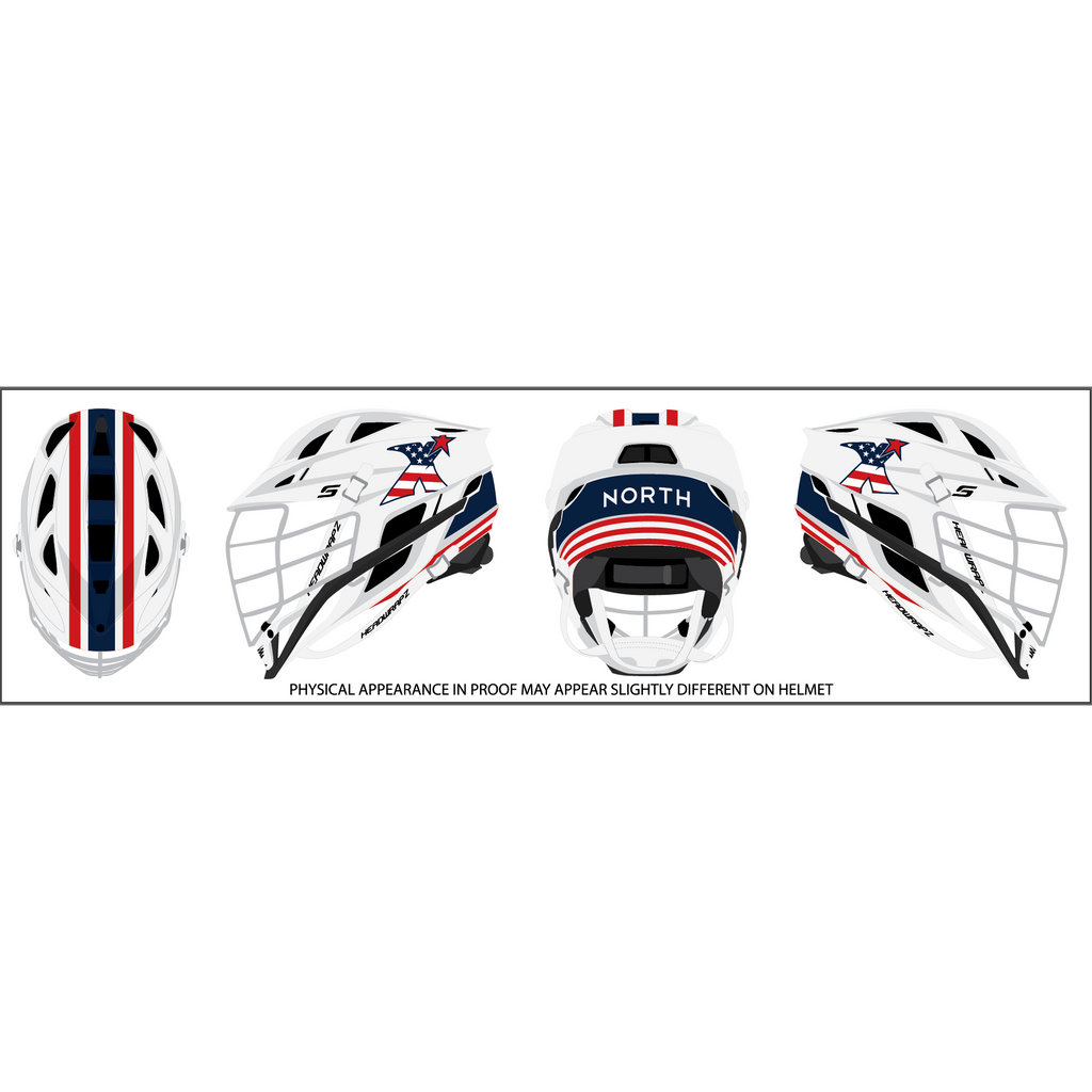 MDX North Helmet Wrap