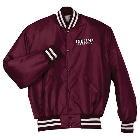 Oxford Youth Lacrosse Maroon / White Heritage Jacket