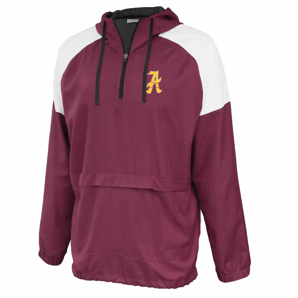 Amherst  Softball Anorak Hooded Quarterzip