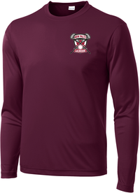 New Paltz Youth Lacrosse Long Sleeve Performance Shirt