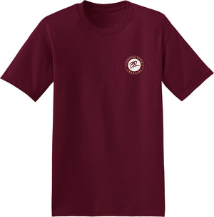 Burning River Maroon T-Shirt