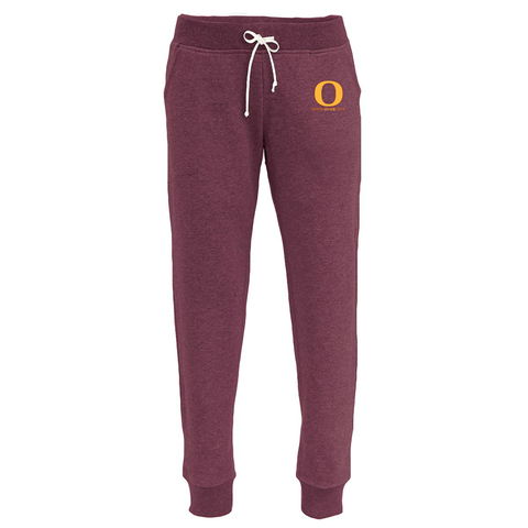 Oxford Youth Lacrosse Women's Maroon Joggers