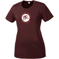 Burning River Lacrosse Women's Maroon Performance Tee