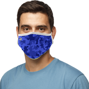 Blatant Defender Face Mask (Blue Camo)