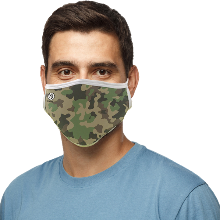 Blatant Defender Face Mask (Camo)