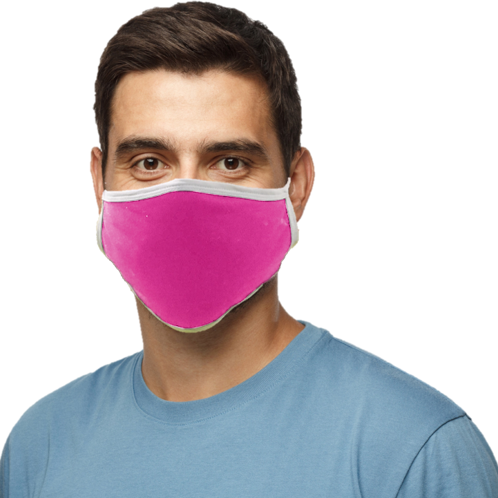 Blatant Defender Face Mask (Pink)