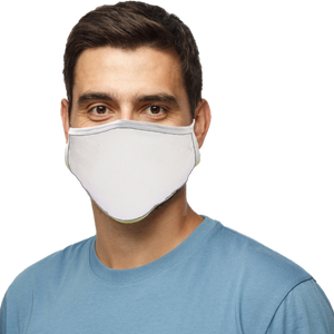 Blatant Defender Face Mask (White)