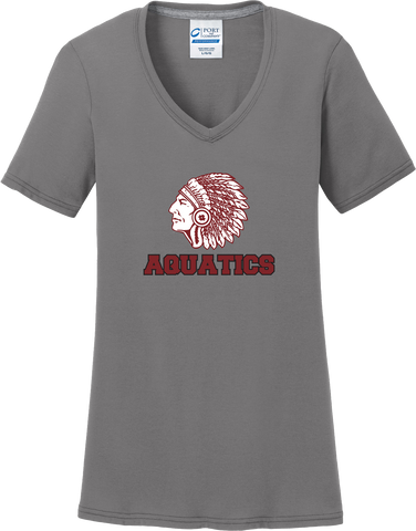 Farmington Aquatics Women's Grey T-Shirt