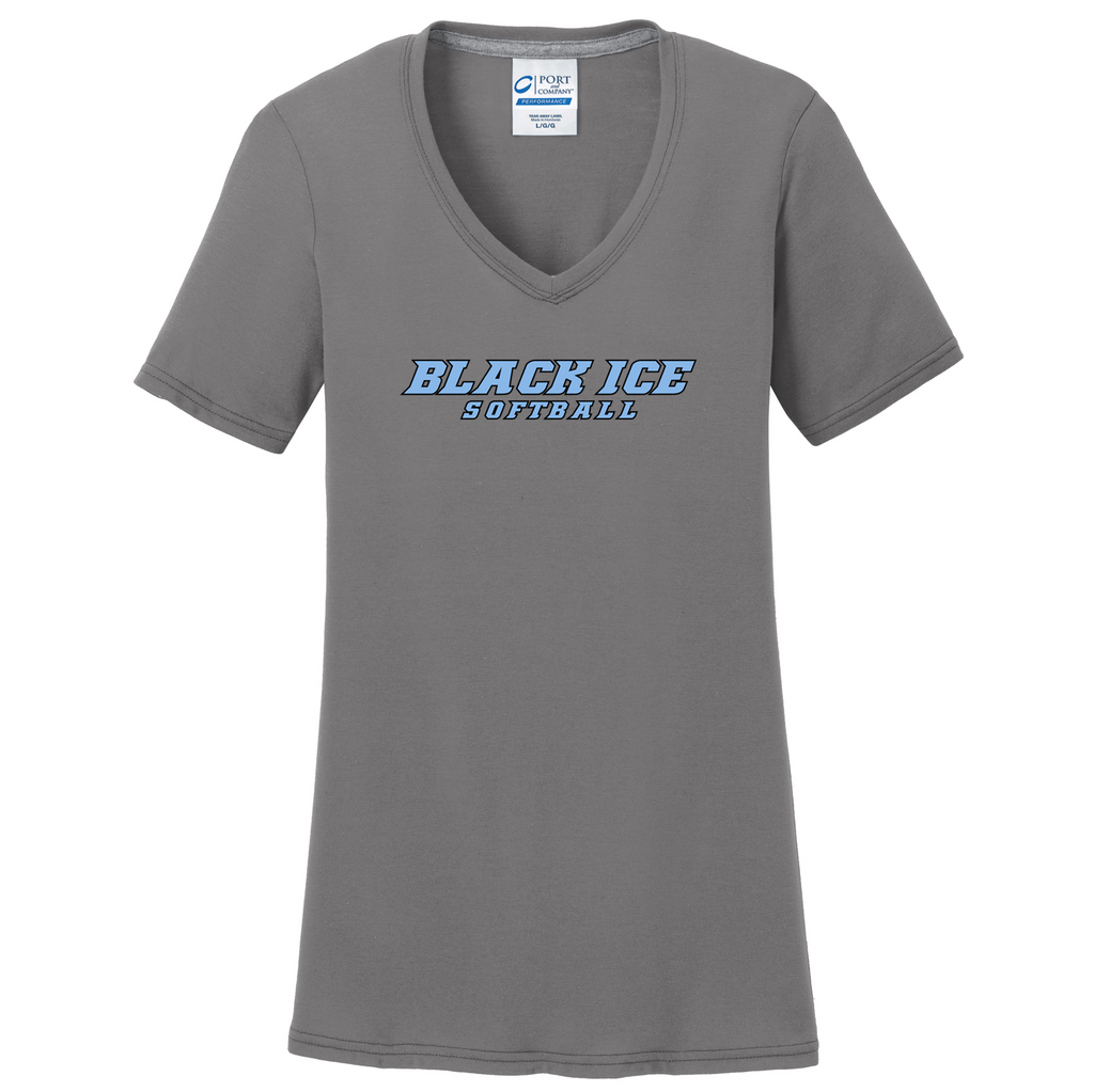 Black Ice Softball  Women's T-Shirt