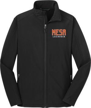 Mesa Lacrosse Men's Black Soft Shell Jacket
