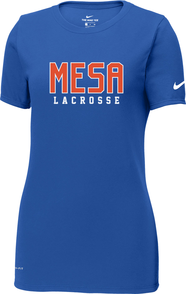 59feb504490a Mesa Lacrosse Women s Blue Nike Dri-Fit T-Shirt – Blatant Team Store