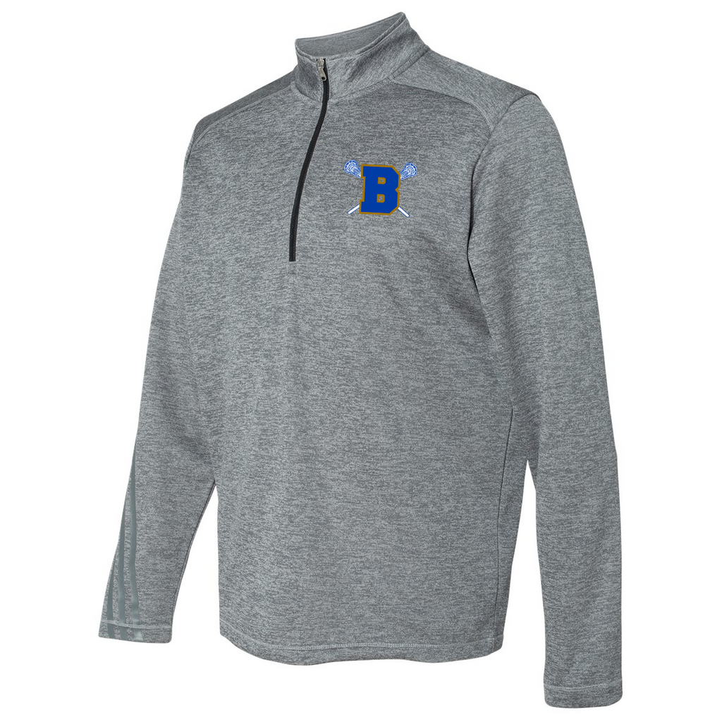 Brentwood Adidas Terry Heathered Quarter-Zip Pullover