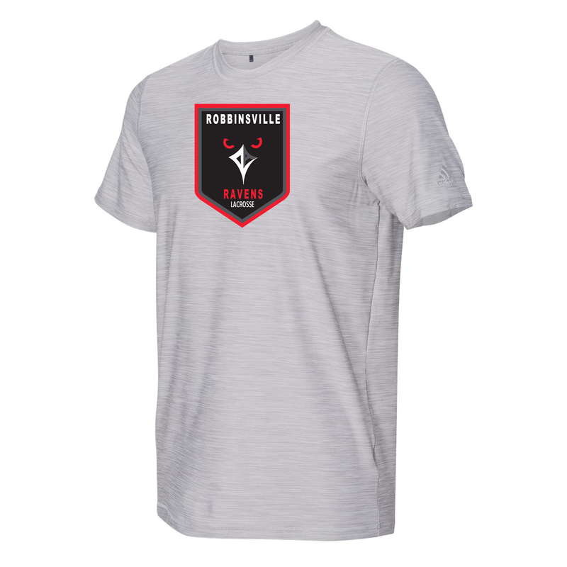 Robbinsville Lacrosse Association Adidas Melange Tech T-Shirt