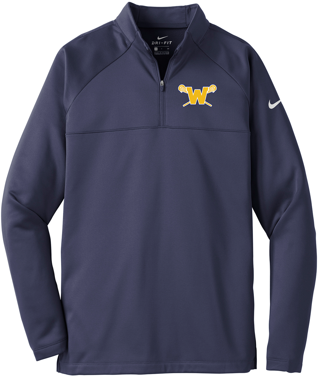 Webster Lacrosse Navy Nike Therma-FIT Fleece