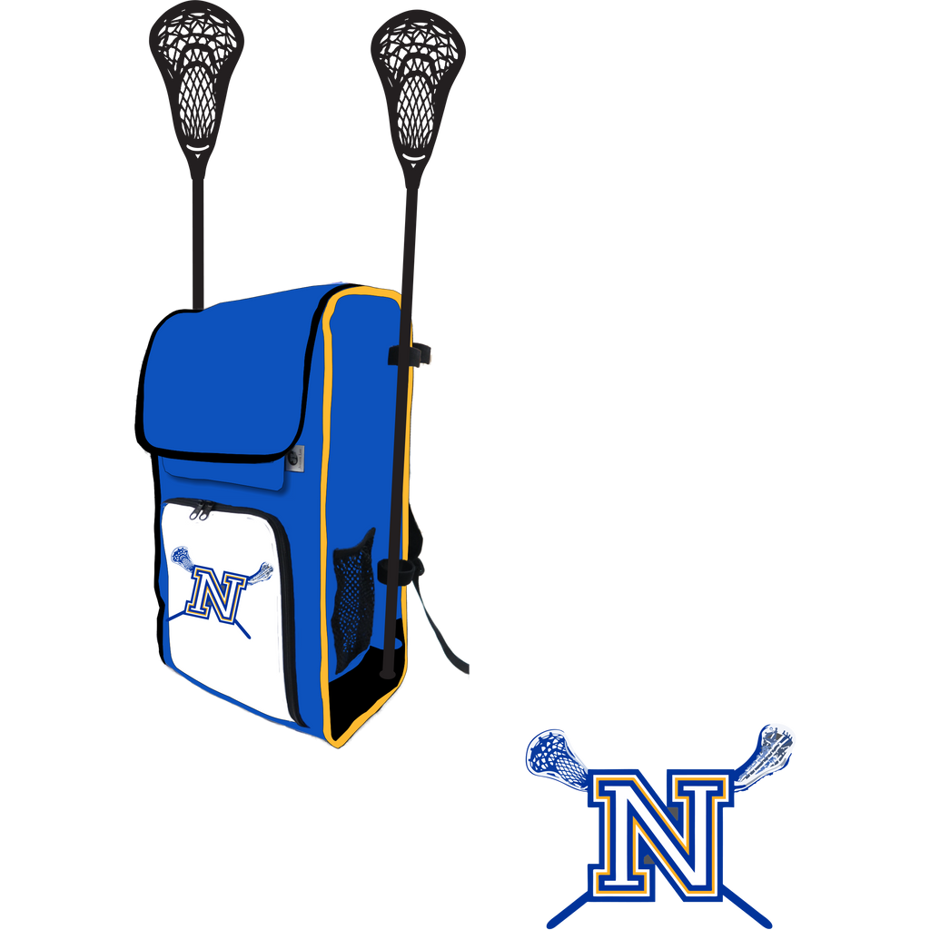 Newington Lacrosse Side Stick Holder Large Backpack