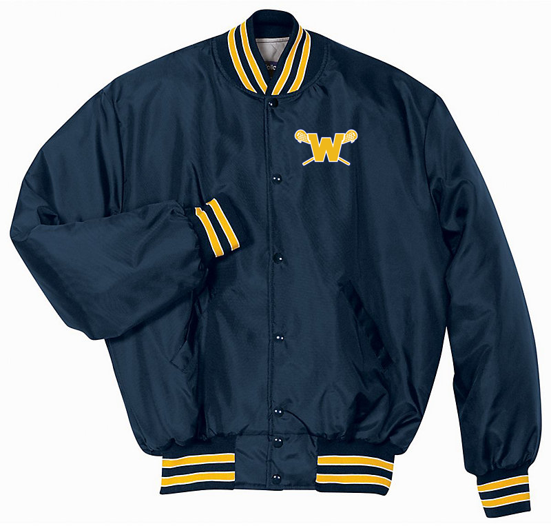 Webster Lacrosse Navy & Gold Heritage Jacket