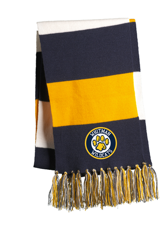 Whitman Wildcats Team Scarf