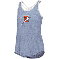 2019 Eastvale Girl's Softball Women's Crossback Tank