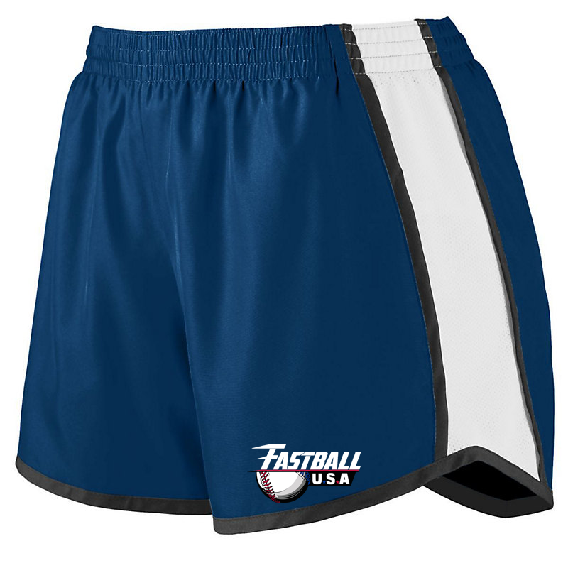 Fastball USA Academy Baseball  Women's Pulse Shorts