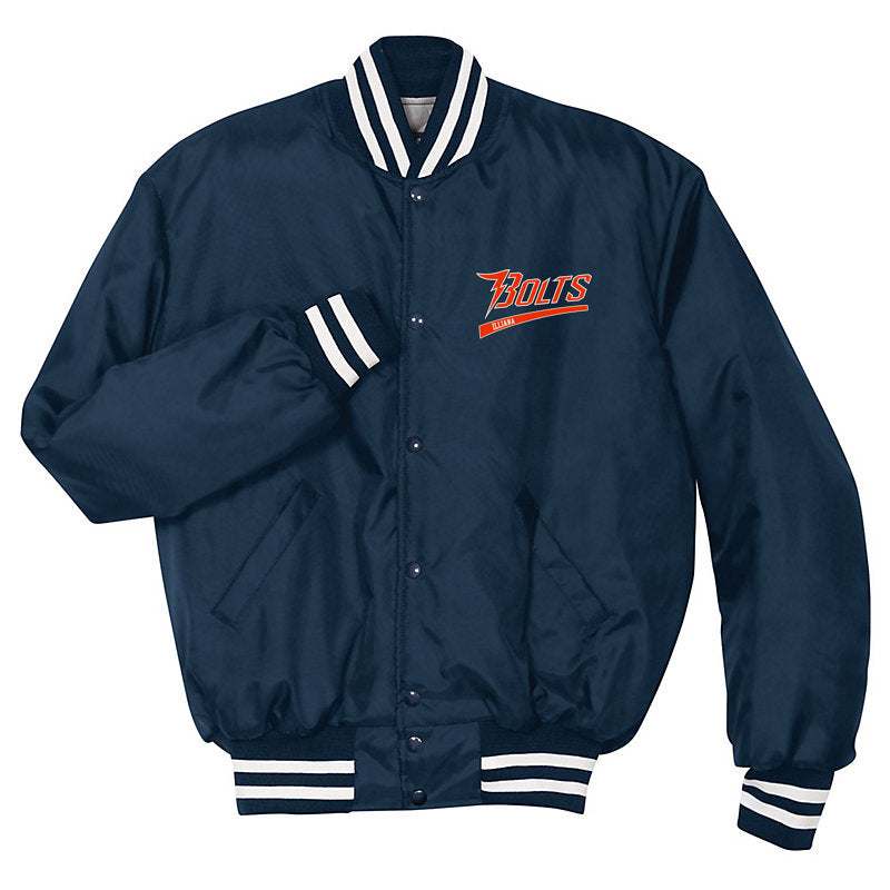 Illiana Thunderbolts Navy/White Heritage Jacket