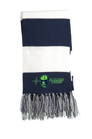 Flatliners Lacrosse Navy/White Team Scarf