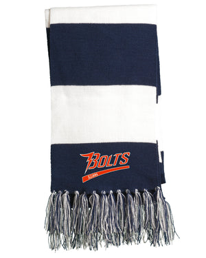 Illiana Thunderbolts Navy/White Team Scarf