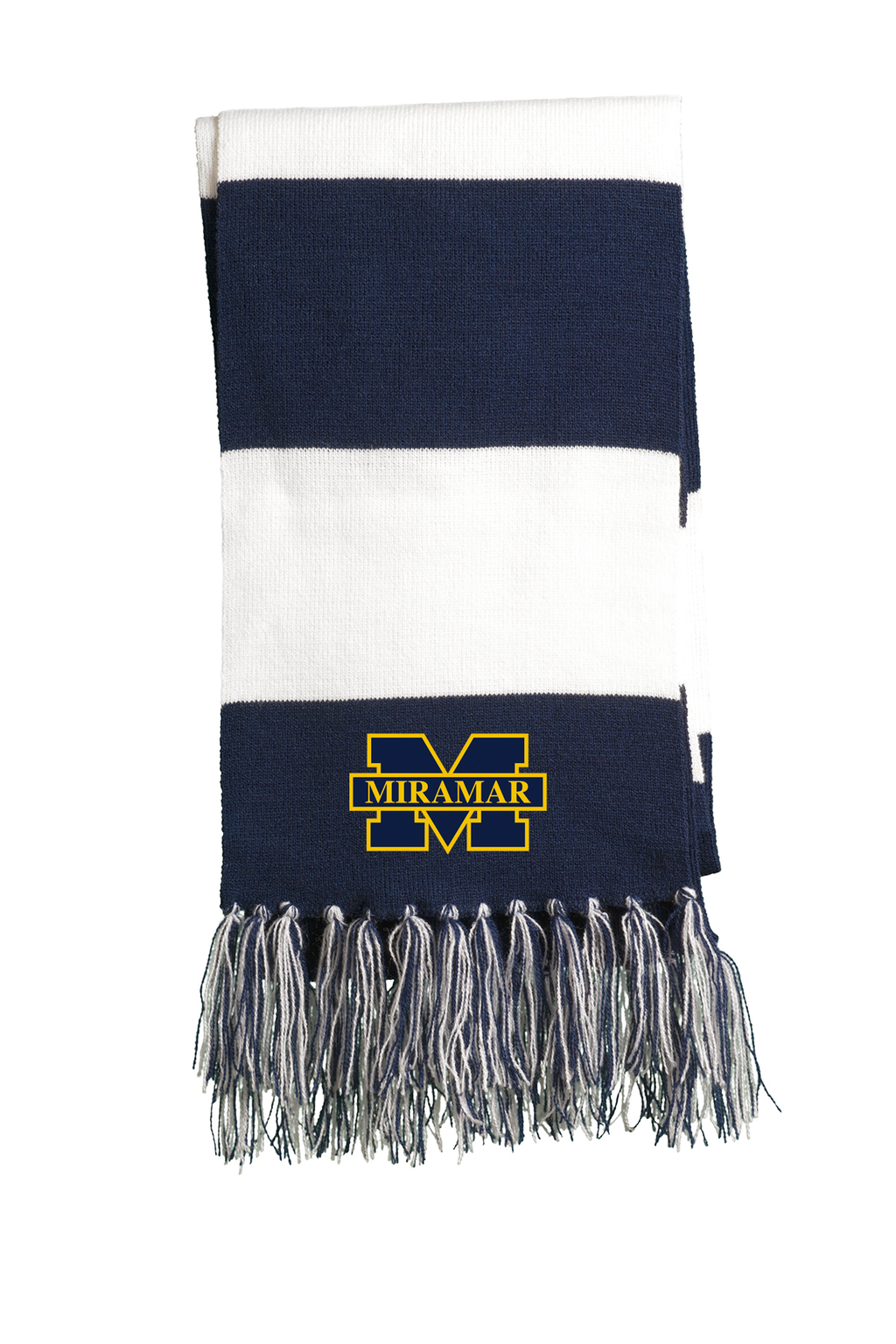Miramar Wolverines Football Team Scarf