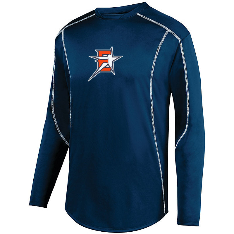 2019 Eastvale Girl's Softball Warmup Pullover